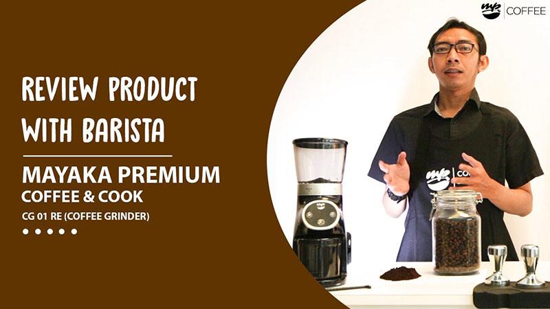MAYAKA PREMIUM Coffee Grinder CG-01 RY REVIEW