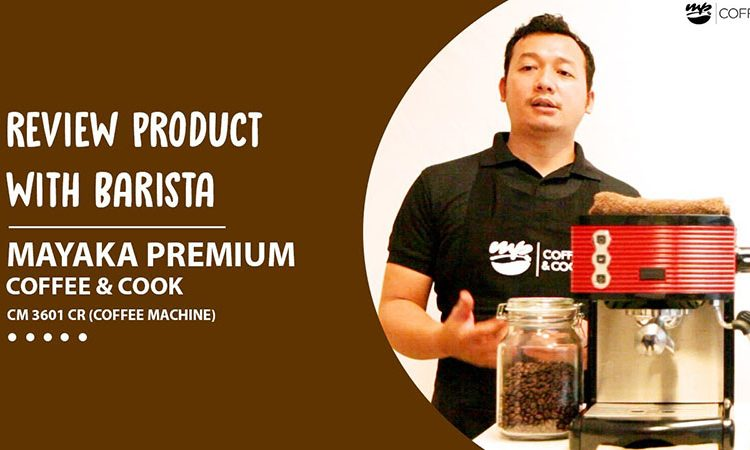 Review mesin kopi mayaka premium mp coffee cm-3601 cr